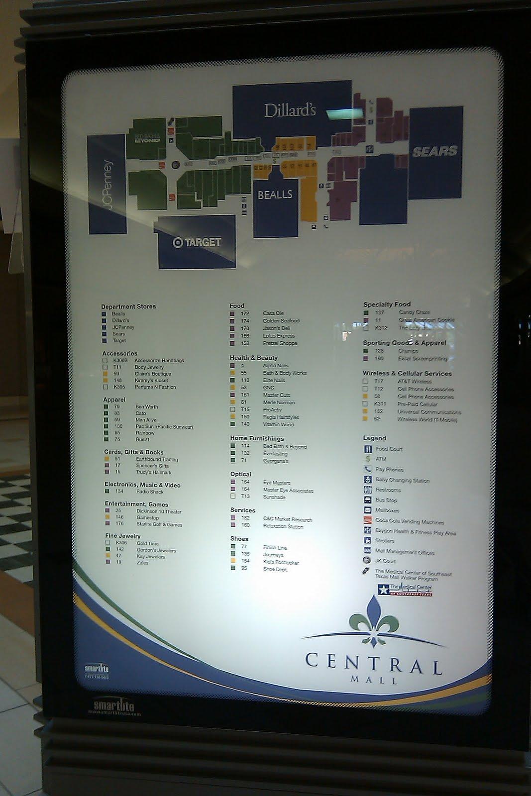 The Louisiana and Texas Retail Blogspot: Central Mall Port