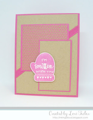 I'm Smitten with You card-designed by Lori Tecler/Inking Aloud-stamps from Reverse Confetti