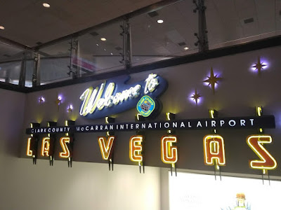 Welcome to Las Vegas; McCarran Airport