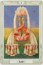 The Two of Cups, Thoth