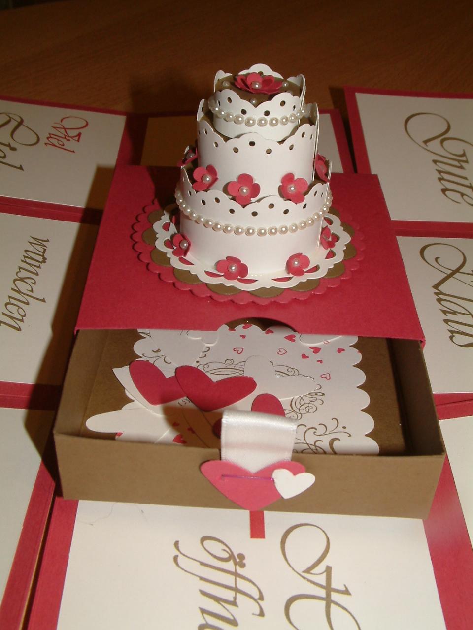 Marions Bastelstubchen Explosionsbox Zur Hochzeit
