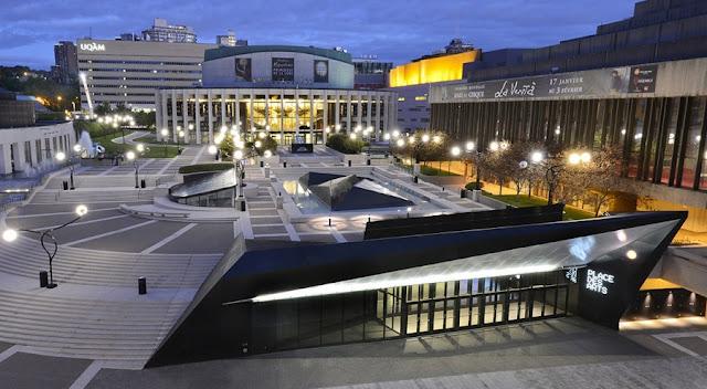 Place des Arts em Montreal