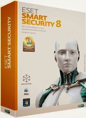 ESET Smart Security 8 Full + Crack + Keygen 2015 (x86x64) Free Download