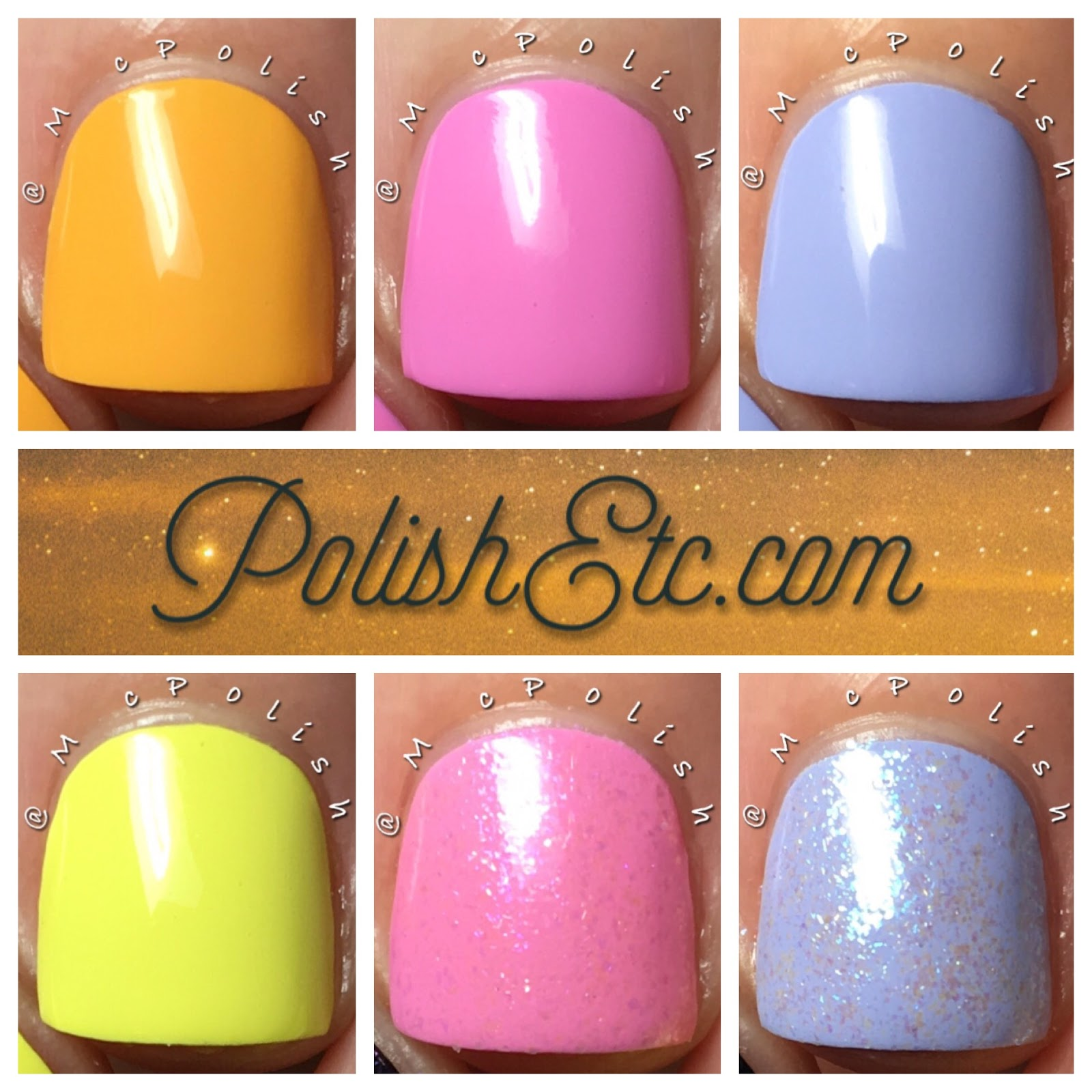 Glisten and Glow - Oh, The Placed You'll Go Collection - McPolish