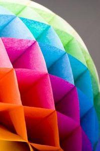 Arte Color Como Hacer Panales O Nidos De Abeja En Papel Seda - Como-hacer-guirnaldas-de-papel-de-seda
