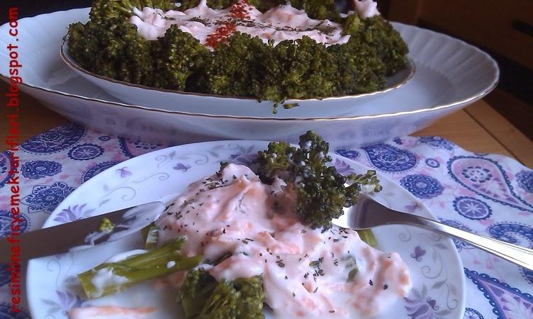 yoğurtlu-brokoli-salatasi-tarifi