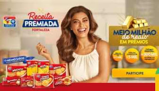 Promoção Fortaleza Receita Premiada Meio Milhão Prêmios Juliana Paes