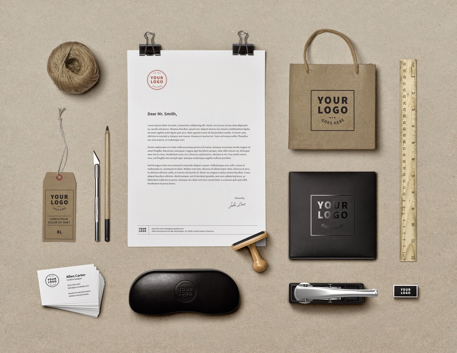PSD Branding / Identity Mock-Up