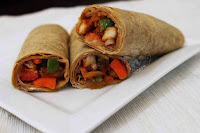 chicken chili wrap