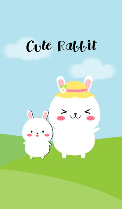I'm Cute White Rabbit theme(jp)