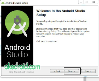 Welcome  to the Android Setup.