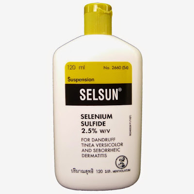 แชมพู Selsun รักษาสิวผด