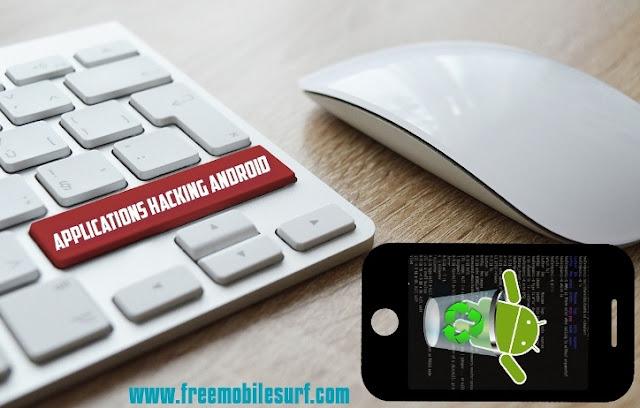 Applications de hacking sur téléphone android
