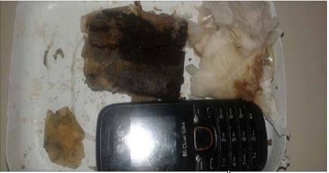 Delmiro Gouveia: Polícia apreende celular que seria entregue para detento