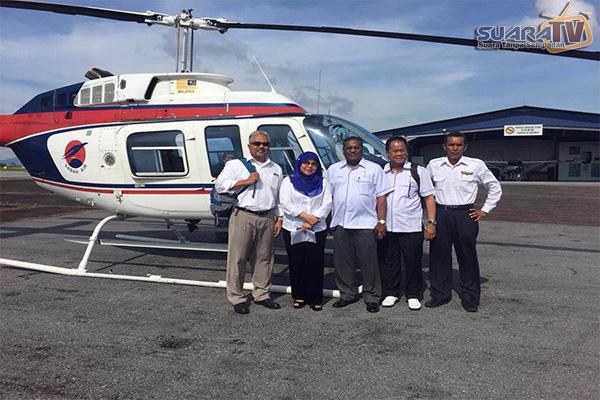 Helikopter Membawa VIP Hilang Di Sarawak