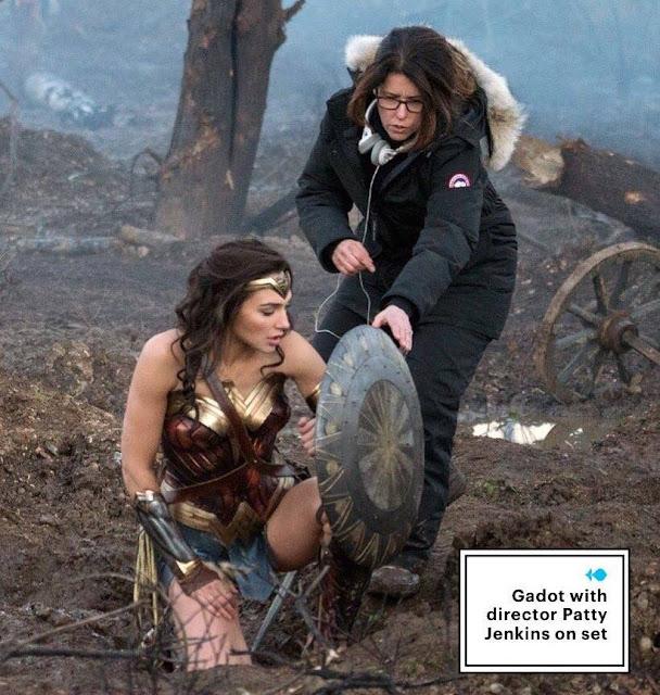蓋兒賈多特(Gal Gadot)主演《神力女超人》釋出全新劇照