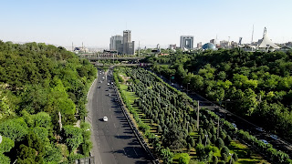 On nice weather the view is incredible in Tehran