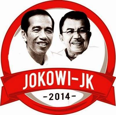 Presiden RI ke-7 Jokowi-Jusuf Kalla
