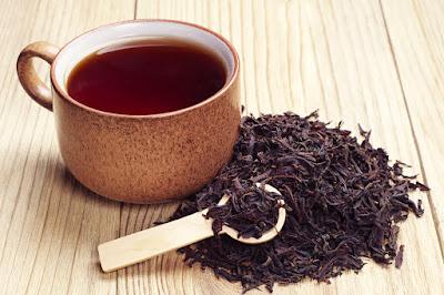Drinking Darjeeling Organic Black Tea
