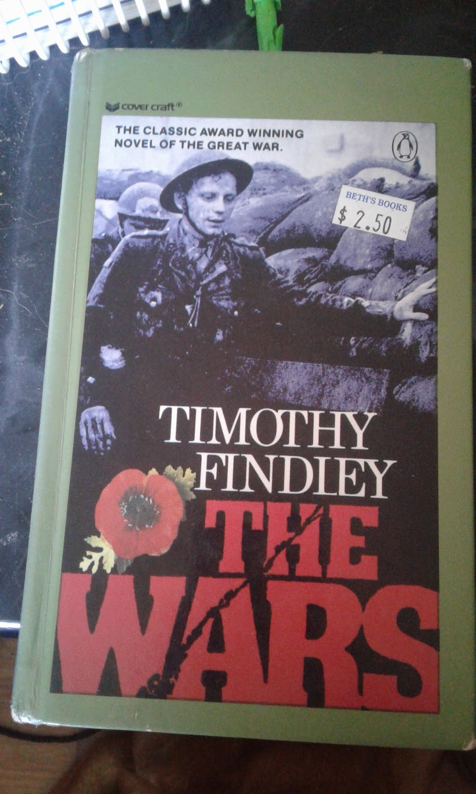a review of timothy findleys novel the wars Timothy findley's the wars and shakespeare's king lear - book report in findley's novel, the wars report/review on topic timothy findley's the wars.