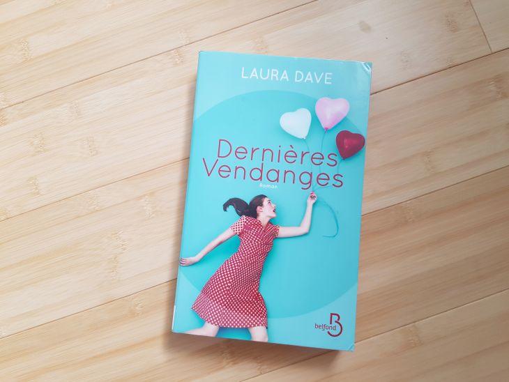 livre Dernières vendanges de Laura Dave