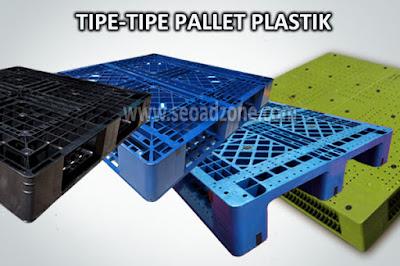 Mengenal Tipe Pallet Plastik dan Spesifikasinya