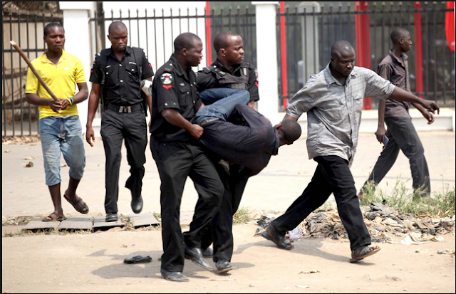 Young man arrested after preparing charms to take over his employer's Hotel in Lagos