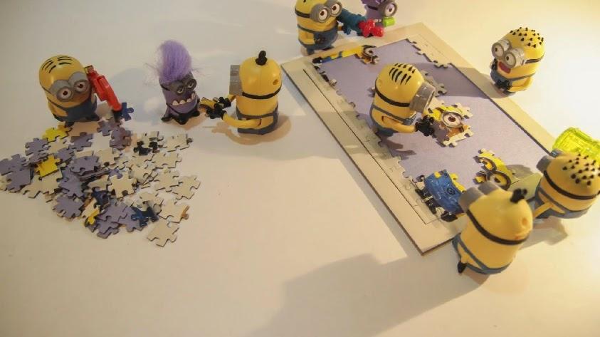 Minion Puzzle (Stop Motion)