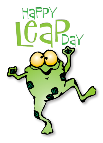 Image result for animated leap day    .     cat