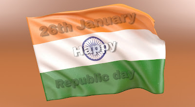 Happy Republic Day Image by Fast2SMS