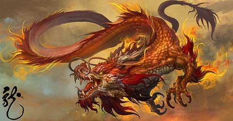 Legend of Chinese Dragon and Its Appearance