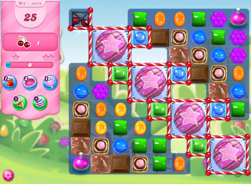 Candy Crush Saga level 4478