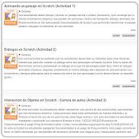 Actividades y tutoriales de Scratch