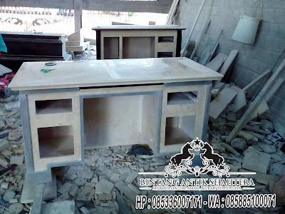 Meja Kantor Marmer, Meja Kerja Dari Marmer, Model Meja Kantor Terbaru