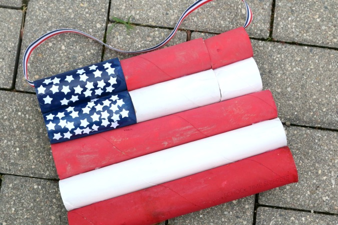 american flag craft for kids