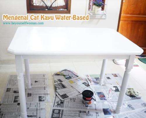 Mengenal Cat Kayu Water-Based Yang Mudah Dikerjakan Perempuan