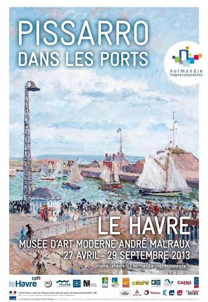 En 1883 Arro Débute Son Cycle Des Ports à Rouen Il Le Termine Au Havre Par Sa Série Du Port 24 Toiles Peintes Depuis Les Fenêtres De