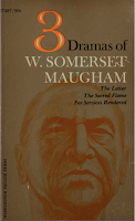Three Dramas, 1968 Washington Square Press - W. Somerset Maugham