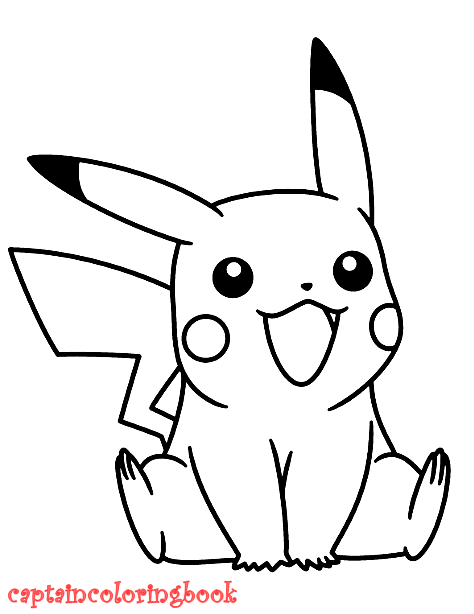 Pokemon coloring pages Printable Free pdf Download