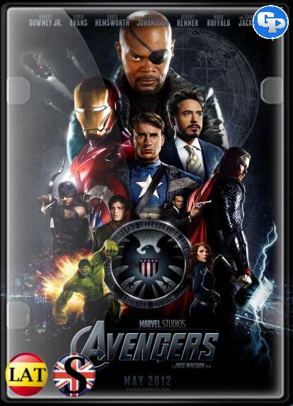 Los Vengadores (2012) HD 1080P LATINO/INGLES