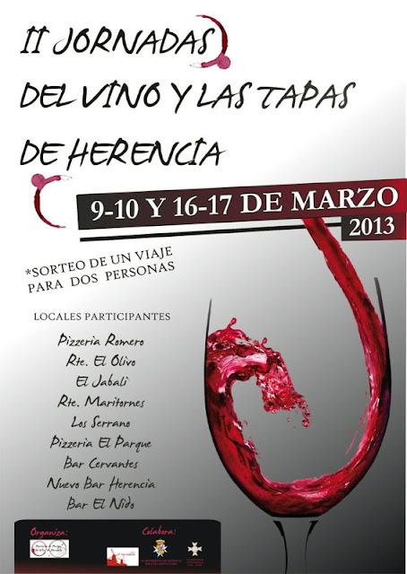 RUTAS DEL VINO - Jornadas del vino y las tapas de Herencia 3