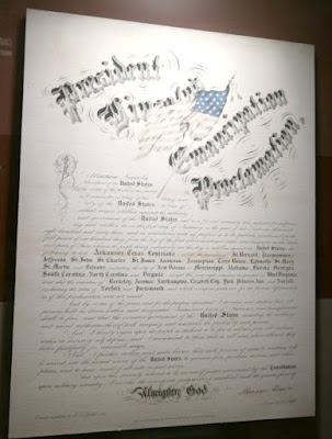 Emancipation Proclamation Signed by President Lincoln