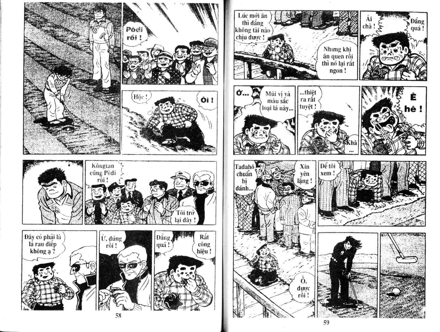 Ashita Tenki ni Naare chapter 7 trang 28