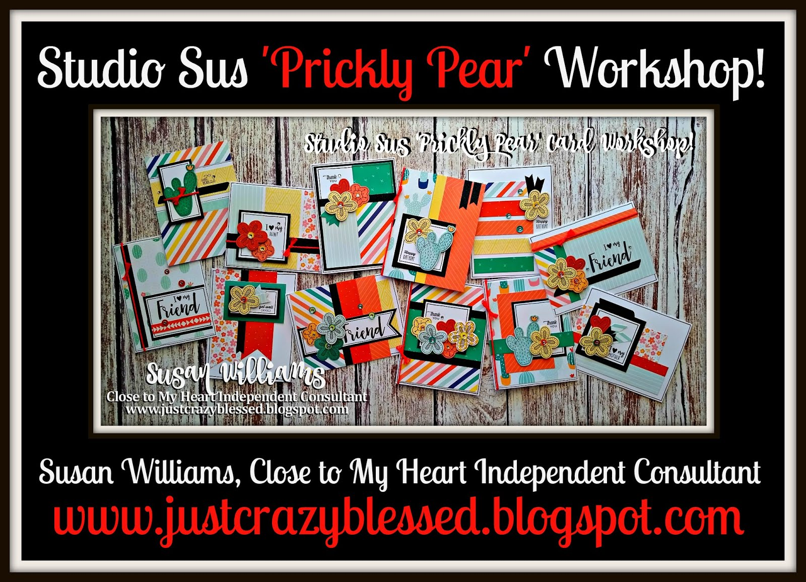 'Prickly Pear' Cardmaking Workshop!