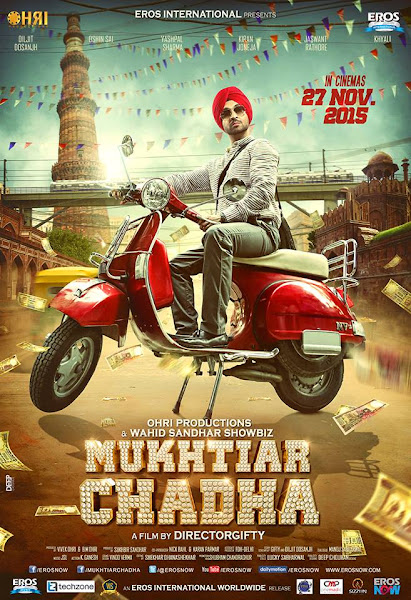 Poster Of Mukhtiar Chadha 2015 720p Punjabi DVDRip Full Movie Download