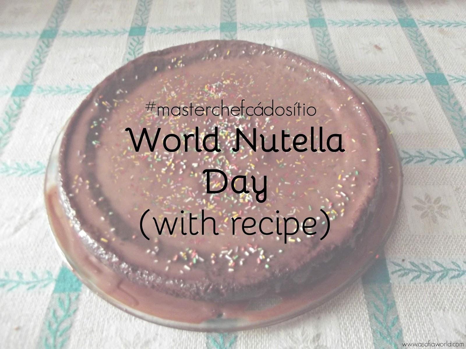 World Nutella Day Chocolate Cake Recipe with Nutella