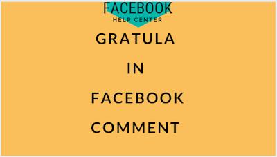 Facebook Hoax - Type Gratula