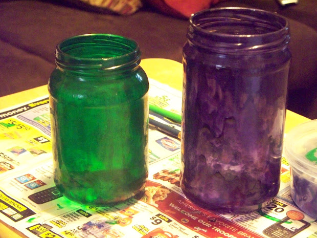 Clear Stained Glass Spray Paint Color