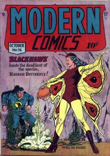 Modern Comics 78 Blackhawk cover