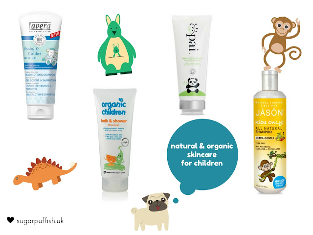 Natural and Organic Skincare for Children